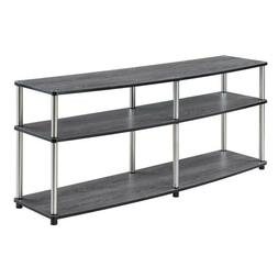 Convenience Concepts 131060WGY Designs2Go 3-Tier TV Stand, 6