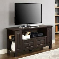 44 in columbus wood tv stand console