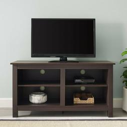 "44"" Wood TV Stand Entertainment Center Media Console Storage"