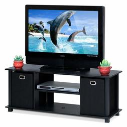 """47"""" TV Stand Entertainment Center Storage Cabinet for Living"""