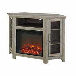 """Walker Edison  52"""" Fireplace TV Stand Console New"""