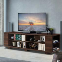 "59"" L TV Stand Console Entertainment Center Media Wood Stora"