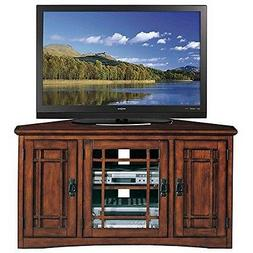 Leick Riley Holliday Mission Corner TV Stand with Storage, 4