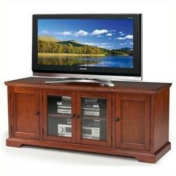 Leick Westwood Cherry Hardwood TV Stand, 60-Inch