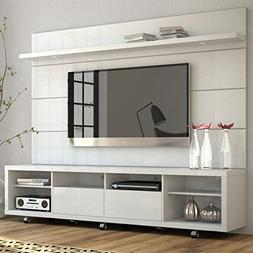 Manhattan Comfort Cabrini TV Stand and Floating Wall TV Pane