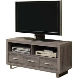Monarch Reclaimed-Look TV Console with 3 Drawers, 48-Inch, D