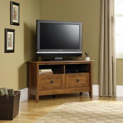 Sauder 410627 August Hill Corner Entertainment Stand For TV'