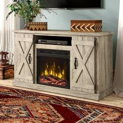 Adelaid TV Stand for TVs up to 55 inches with Fire Place by