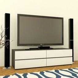 Allure Collection 60 TV Console with 2 Flip Doors and 2 Draw