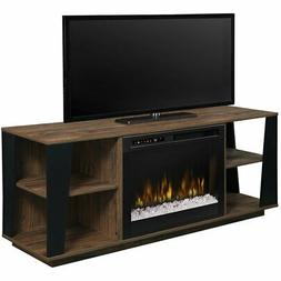 Dimplex Arlo 60-Inch Electric Fireplace Media Console - Glas