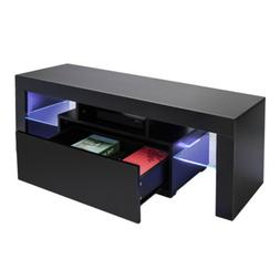 Assembly TV Stand Table Living Room Home Furniture Wooden TV