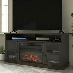 """Ameriwood Home Ayden Park Fireplace TV Stand up to 65"""" in Es"""