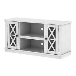 Bayport TV Stand for TVs up to 55 inches, White White