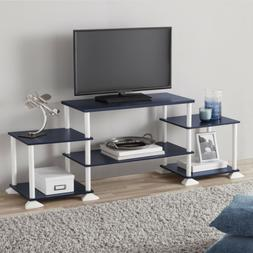 Black TV Stand Media Entertainment Center 40 Inch Flat Scree
