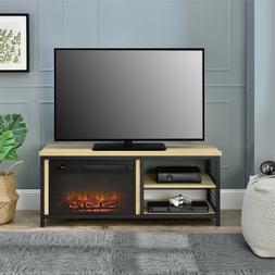 Ameriwood Home Broadview Fireplace TV Stand for TVs up to 55