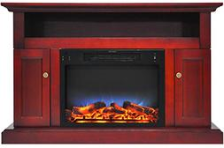 Cambridge CAM5021-2CHRLED Sorrento Electric Fireplace with M