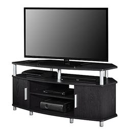"""Carson Corner TV Stand for TVs up to 50"""" Black Outstanding S"""