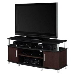 "Ameriwood Home Carson TV Stand for TVs up to 70"" Wide Cherry"