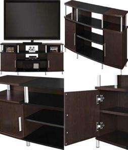 """Ameriwood Home Carson TV Stand for TVs up to 70"""" Wide  Cherr"""