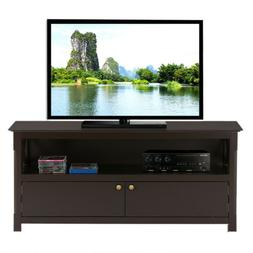 """46"""" TV Stand Entertainment Center Storage Cabinet for Living"""