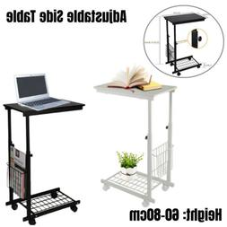 Computer Tray Sofa Side End Table Lap Stand TV Snack Ottoman