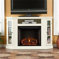 """BOWERY HILL 48"""" Convertible Electric Fireplace TV Stand in I"""