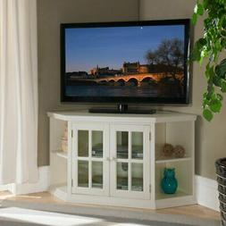 Leick Home Corner TV Stand with Bookcase Ends