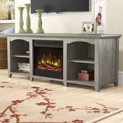 """Danforth TV Stand for TVs up to 60"""" with Fireplace by August"""