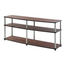 Convenience Concepts Designs2Go 3-Tier TV Stand, 60-Inch, Ch