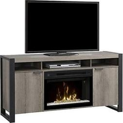 Dimplex Pierre Electric Fireplace TV Stand with Acrylic in S