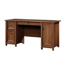 Sauder Edge Water Computer Desk in Auburn Cherry finish, 419