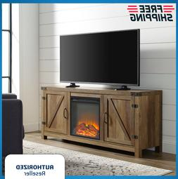 "Electric Fireplace 70"" TV Stand Entertainment Media Center W"