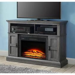 ELECTRIC Fireplace TV Stand fits 55 inch - Grey FAST SHIPPIN