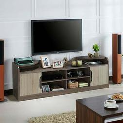Elgin Rustic Chestnut Brown 72-inch Storage TV Stand by FOA