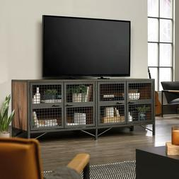 "Entertainment Center 70""TV Industrial Warehouse Rustic Wood"