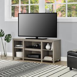 """Entertainment TV Stand Cubby for TVs up to 50"""" w/ 6 Shelve"""