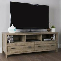South Shore Exhibit TV Stand for TVs, Up to 60'', Weathered