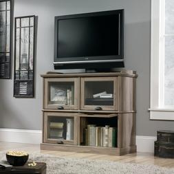 Farmhouse Cottage TV Stand Tall Console Entertainment Center