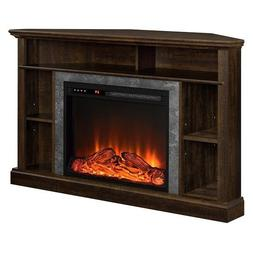 Fireplace Heater Mantel Electric TV Stand Corner Console Ent