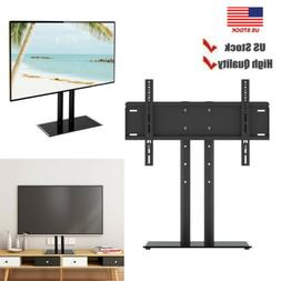 Flat Screen TV Stand Base Table Top Tabletop Metal TV Stand
