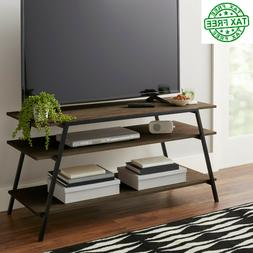 "Flat Screen TV Stand, up to 55"" TVs Ample storage Shelf, Mul"