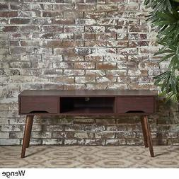 Frieda Mid Century Modern Wood TV Stand with Drawers by Brow
