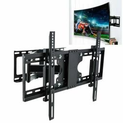 Full Motion Swivel Curved TV Stand Wall Mount Bracket 26-75
