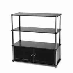 Convenience Concepts Highboy A/V Equipment Cabinet - Up to 3