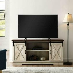 Home Accent Furnishings New 58 Inch Sliding Barn Door Televi