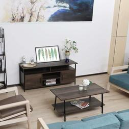 Home Office Furniture Living Room TV Stand Coffee Table Wood
