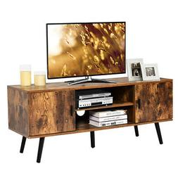 """Industrial TV Stand Entertainment Center for TV's Up to 55"""""""