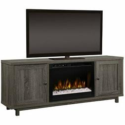 Dimplex Jesse Media Console Electric Fireplace With Glass Em