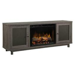 Dimplex Jesse Media Console Electric Fireplace With Logs