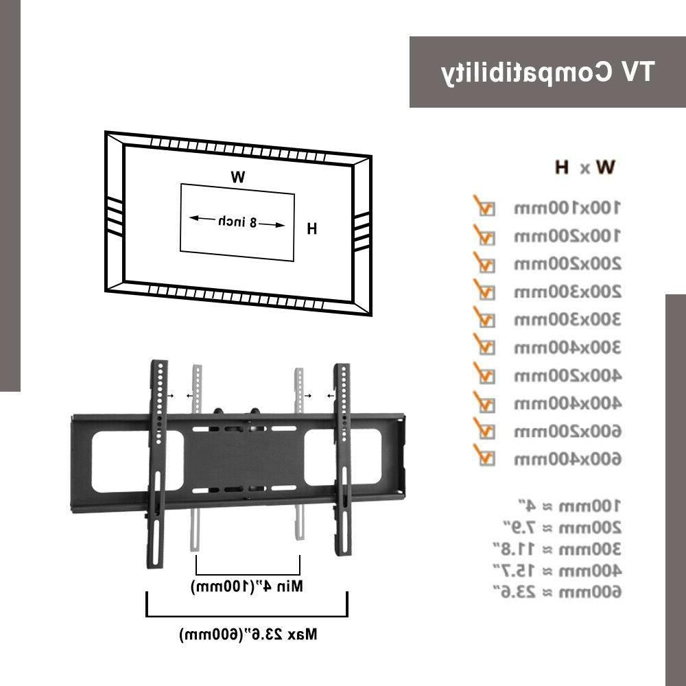3-Tier Adjustable TV Stand For 32-65 Flat Panel